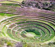 Хранение овощей, фруктов и другой агрокультурной продукции осуществлялось в постройках похожих на найденные в Перу в районе Морай