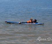 Уроки сёрфинга для детей в Лиме.