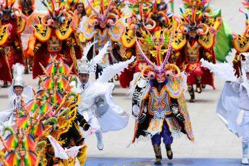 Авторское путешествие в Пуно на фееричный карнавал в феврале
