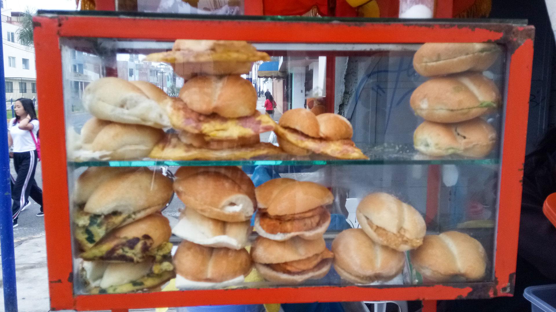 Чем завтракают перуанцы?.. Сэндвичами с Квакером.